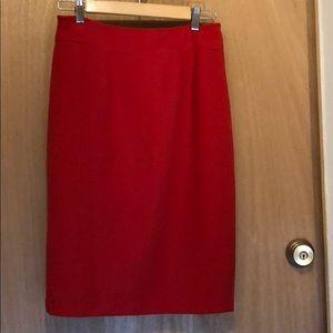 Alythea red skirt